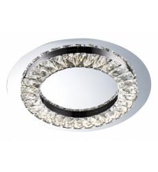 Chrome Finish LED Flush Mount (FT04) - Bethel International