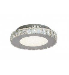 BI - Beaded Crystal Bottom Cover LED Flush Mount (FT15)