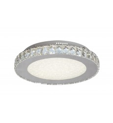 BI - Beaded Crystal Bottom Cover LED Flush Mount (FT16)