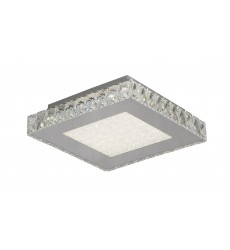 BI - Beaded Crystal Bottom Cover LED Flush Mount (FT17)