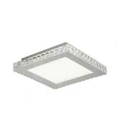 BI - Beaded Crystal Bottom Cover LED Flush Mount (FT18)