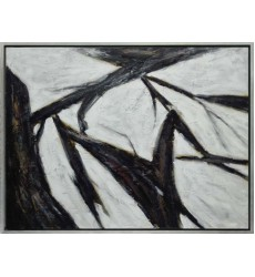 Black Finish Art Painting (JA11KM3648C)