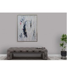 Black & White Art Painting (JA59HG3648S)
