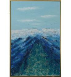 Blue & Green Art Painting (JA71HG4060G) - Bethel International