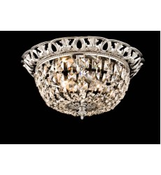 Clear Crystal Flush Mount (JD03CH)
