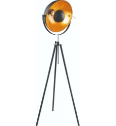 BI - Black Finish Floor Lamp (JFL141KY-BLK)