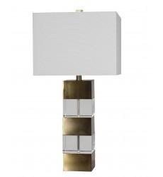 A drum shade Table Lamp (JTL05KT-AB) - Bethel International