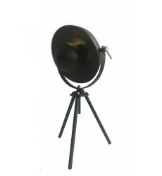 Black Finish Table Lamp (JTL140KY-BLK) - Bethel International