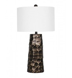 A white shade Table Lamp (JTL14KT-ORB)