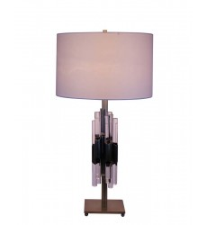Antique Brass Table Lamp (JTL27IH-AB) - Bethel International