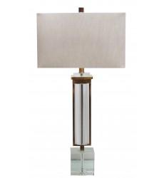 A natural shade Table Lamp (JTL41RC-AB) - Bethel International