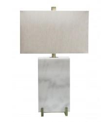 A natural shade Table Lamp (JTL42RC-AB) - Bethel International