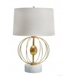 A fabric shade Table Lamp (JTL43RC-GL) - Bethel International