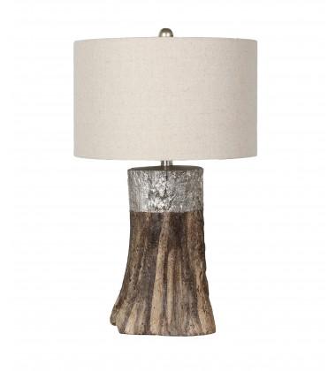 Wood Finish Table Lamp (JTL92KT-SLW)