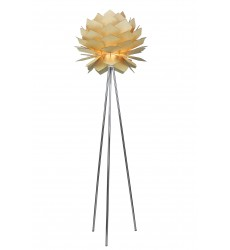 Chrome Floor Lamp (JU07F20W) - Bethel International