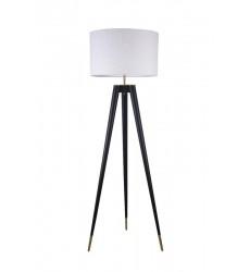 Black Iron Frame Floor Lamp (MFL17X-GD) - Bethel International