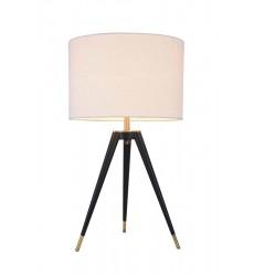 Black Iron Frame Table Lamp (MTL17X-GD) - Bethel International