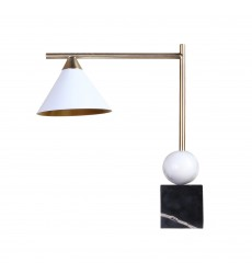 Gold finish Table Lamp (MTL19PQ-GD) - Bethel International