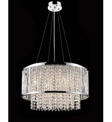 Chrome Frame Chandelier (YS579-6P)