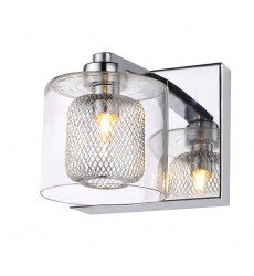 BI - Chrome Finish Wall Sconce (ZP45)