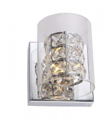 BI - Chrome Finish Wall Sconce (ZP49)
