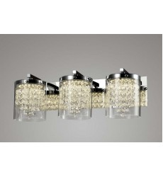 BI - Clear Crystal LED Wall Sconce (ZP88)