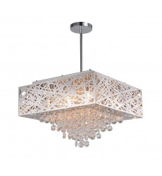 Eternity 9 Light Chandelier with Chrome Finish (1032P18-9-601-S)