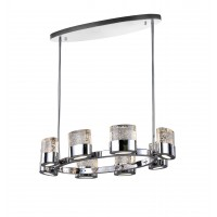 CWI- Emmanuella 8 Light Chandelier with Chrome Finish (1061P31-8-601-O)