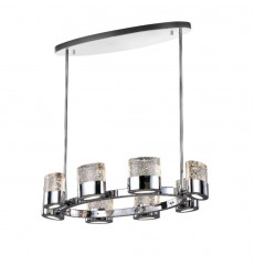 Emmanuella 8 Light Chandelier with Chrome Finish (1061P31-8-601-O)