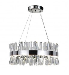 CWI- Faye LED Chandelier with Chrome Finish (1086P26-601)