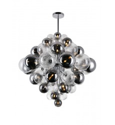 27 Light Chandelier with Chrome Finish (1205P36-27-601) - CWI Lighting