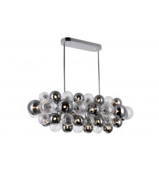 27 Light Island/Pool Table Chandelier with Chrome Finish (1205P39-27-601) - CWI Lighting