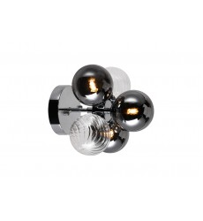 3 Light Sconce with Chrome Finish (1205W9-3-601) - CWI Lighting