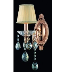 CWI- Flawless 1 Light Wall Sconce with Rose Gold finish (2025W5G-1)