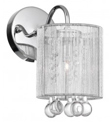 CWI- Water Drop 1 Light Bathroom Sconce with Chrome finish (5006W5C-1 (S))