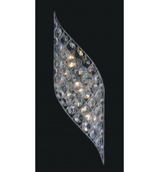 CWI- Chique 4 Light Wall Sconce with Gold finish (5021W7B-R(G))