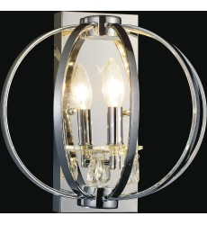 CWI- Abia 1 Light Wall Sconce with Chrome finish (5025W10C-1)