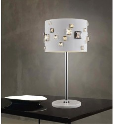 CWI- Shadow 4 Light Table Lamp with White finish (5116T11W)