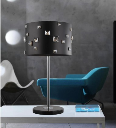 CWI- Shadow 4 Light Table Lamp with Black finish (5116T13B)