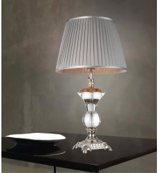 Yale 1 Light Table Lamp with Silver finish (5202T15S) - CWI Lighting