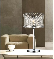 Christie 1 Light Table Lamp with Chrome finish (5300T12C)