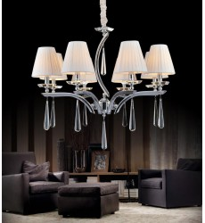 Alice 8 Light Up Chandelier with Chrome finish (5316P30C-8)