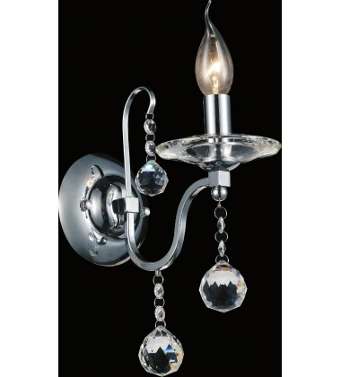 Valentina 1 Light Wall Sconce with Chrome finish (5507W5C-1)