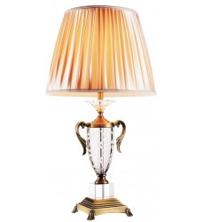CWI- Yale 1 Light Table Lamp with Antique Brass finish (5508T15AB)