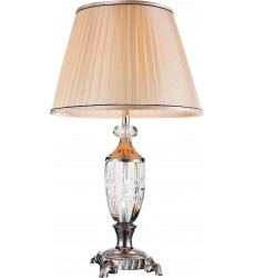 Yale 1 Light Table Lamp with Brushed Nickel finish (5509T16BN)
