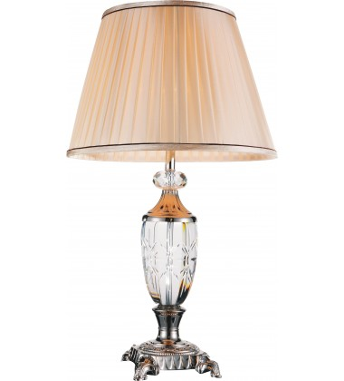 CWI- Yale 1 Light Table Lamp with Brushed Nickel finish (5509T16BN)