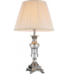 CWI- Yale 1 Light Table Lamp with Brushed Nickel finish (5511T14BN)