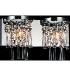 Blissful 2 Light Vanity Light with Chrome finish (5524W16C-2) - CWI Lighting