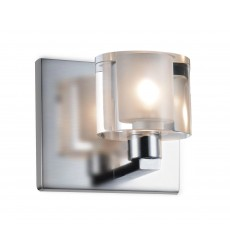 CWI - Tina 1 Light Vanity Light with Satin Nickel finish (5540W5C-606)