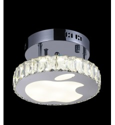 CWI- Rosemary LED  Flush Mount with Chrome finish (5612C10ST)